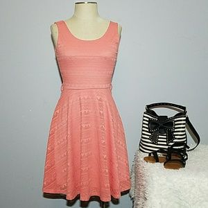 Ya Los Angeles coral dress Small